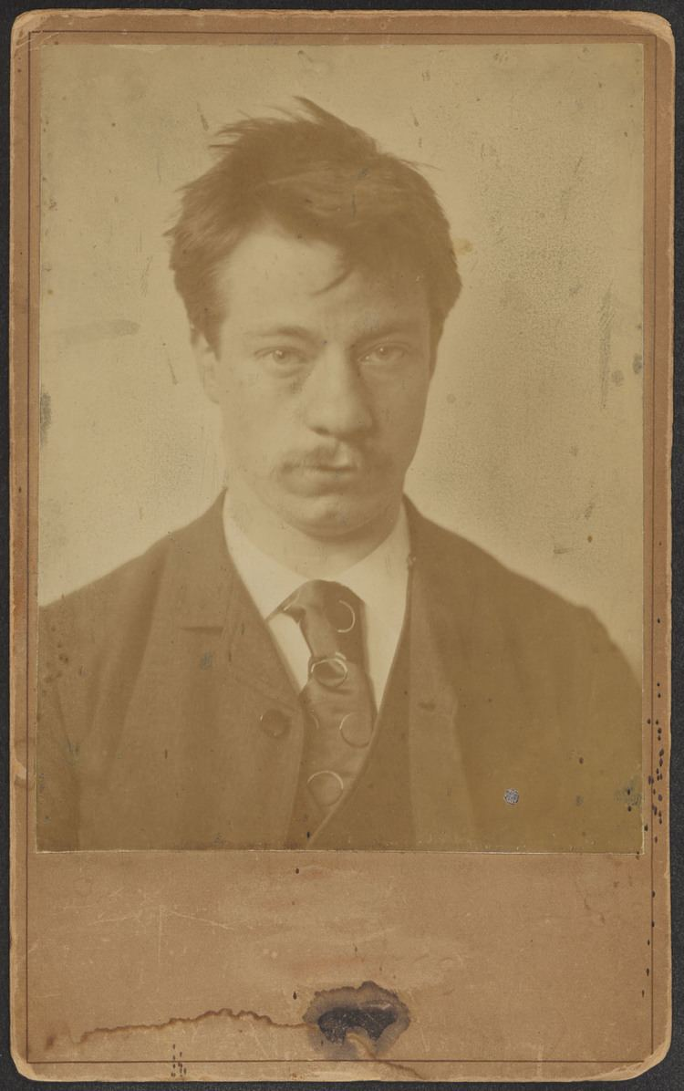 Albert Verwey Foto Albert Verwey op 23jarige leeftijd Het Geheugen
