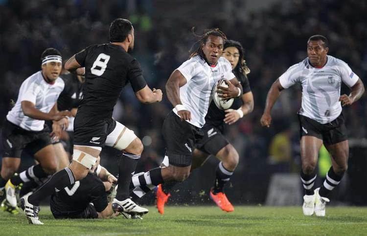 Albert VuliVuli Fiji39s Albert Vulivuli takes on Liam Messam Rugby Union