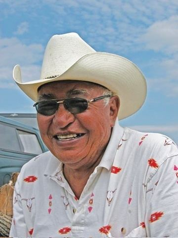 Albert White Hat IndianzCom gt Native Sun News Albert White Hat passes to