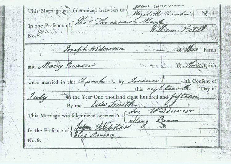 Albert Widdowson Joseph Albert Widdowson 1794 1871 Find A Grave Memorial