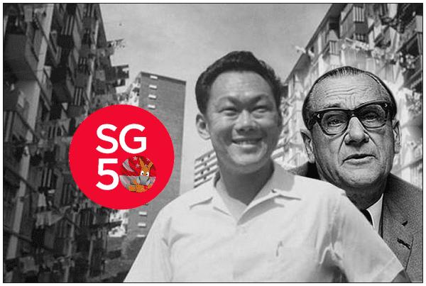 Albert Winsemius Singapore news today SG50 Special 43 Albert Winsemius The