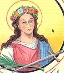 Alberta of Agen CatholicSaintsInfo Blog Archive Saint Alberta of Agen