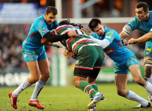 Alberto Benettin Alberto Benettin Photos Photos Leicester Tigers v Aironi Rugby