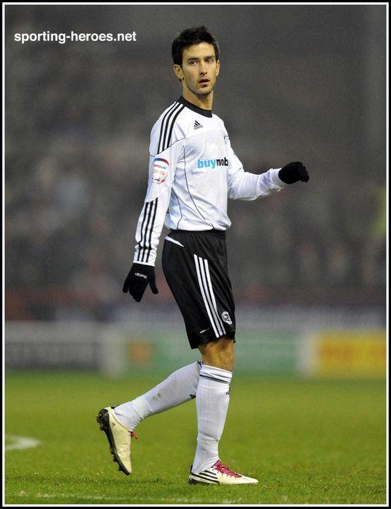 Alberto Bueno Alberto BUENO League Appearances Derby County FC