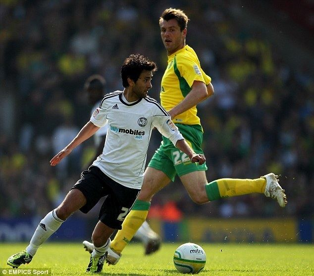 Alberto Bueno Alberto Bueno flopped at Derby County but striker now stands on