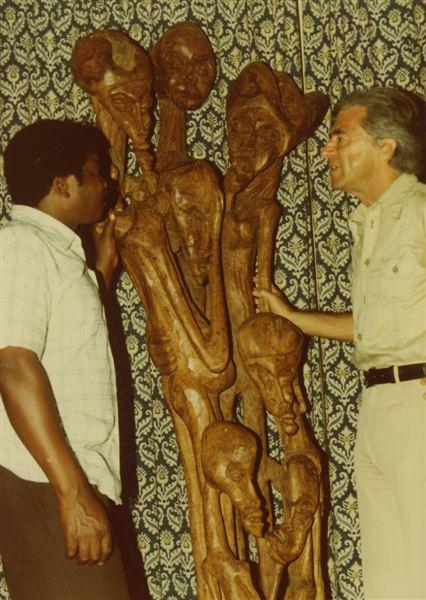 Alberto Chissano Allusion to Mozambique From the sculpture opus by Alberto Chissano
