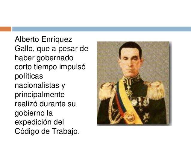 Alberto Enríquez Gallo Cambios socialesenelecuadorrealidad nacional