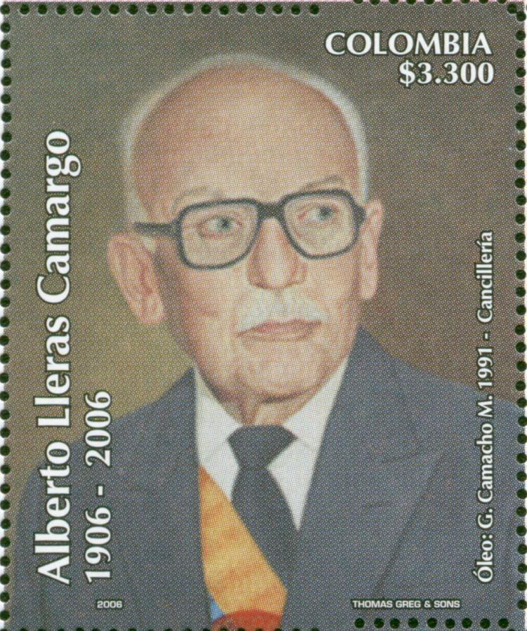 Alberto Lleras Camargo Centenario del natalicio de Alberto Lleras Camargo 1906