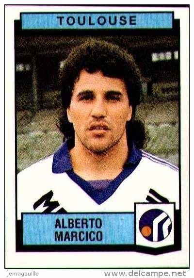 Alberto Marcico Image PANINI Football 88 N351 TOULOUSE ALBERTO