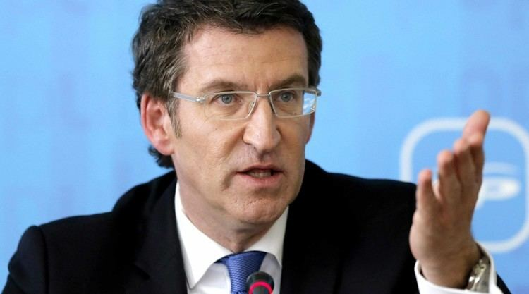 Alberto Nunez Feijoo El presidente Nez Feijo reivindica al PP frente a la