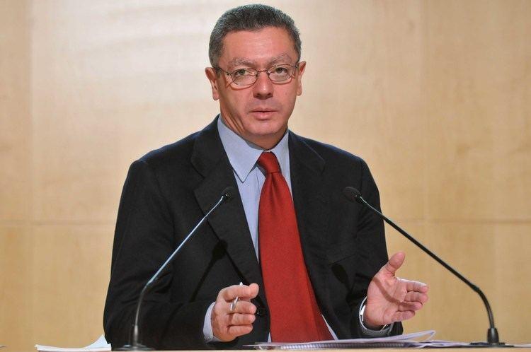 Alberto Ruiz-Gallardon El Ministro de Justicia Alberto RuizGallardn dejar la