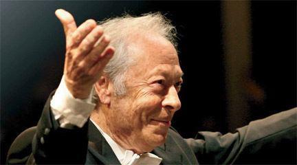Alberto Zedda Alberto Zedda premio y concierto Doce Notas