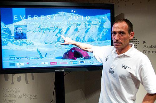 Alberto Zerain Everest K2 News ExplorersWeb Alberto Zerain to solo