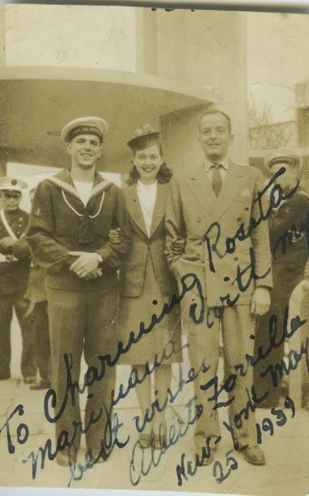 Alberto Zorrilla Rosita Marijuana with Alberto Zorrilla and an Argentinian Sailor
