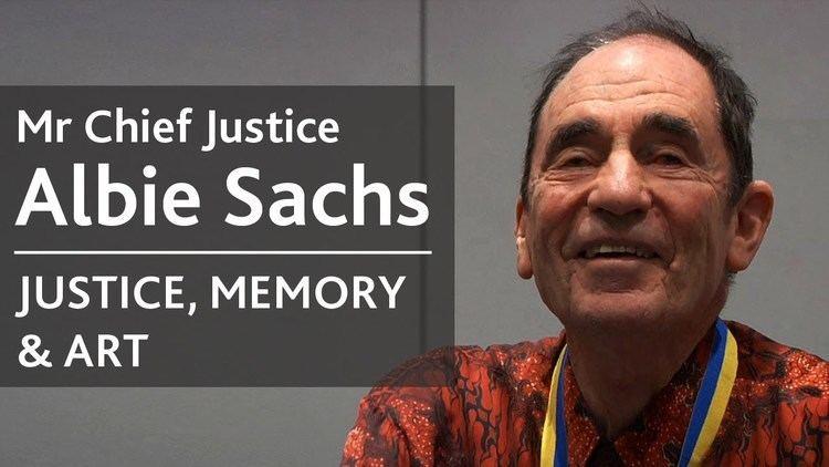 Albie Sachs Albie Sachs Justice Memory Art University College Dublin