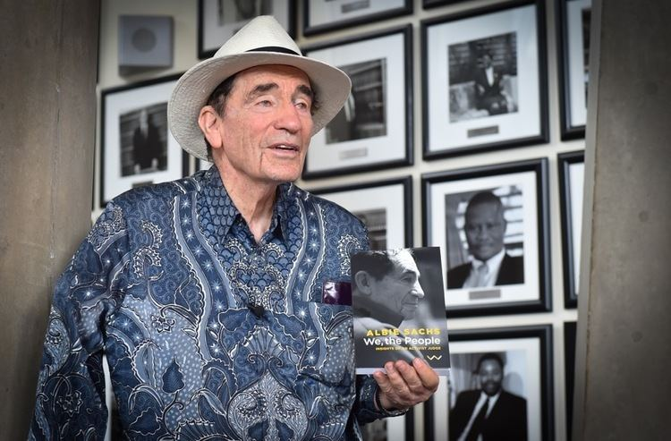 Albie Sachs Activist judge Albie Sachs launches new book Constitution Hill