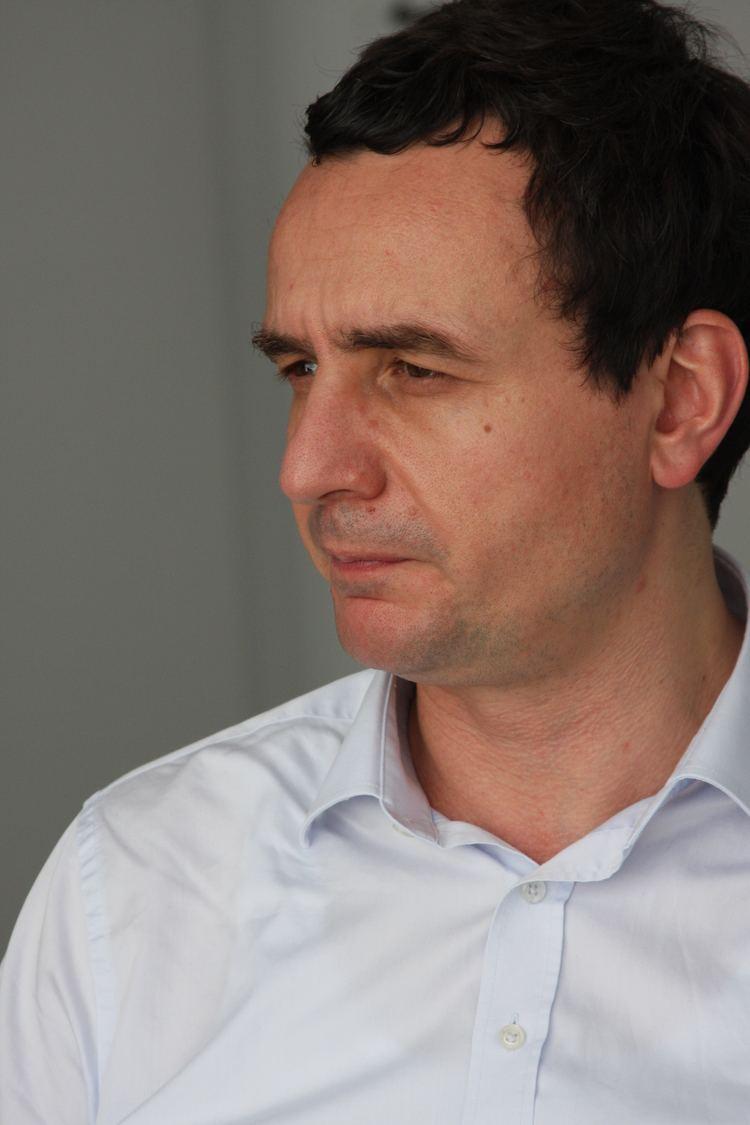 Albin Kurti Albin Kurti Leader of Self Determination Party on the Future of