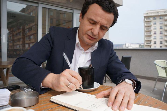 Albin Kurti In Kosovo if debating doesnt work throw tear gas POLITICO