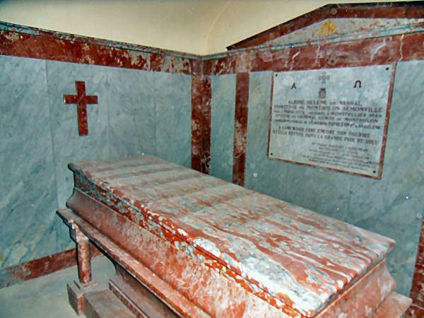 Albine de Montholon La Crypte de la comtesse Albine de Montholon
