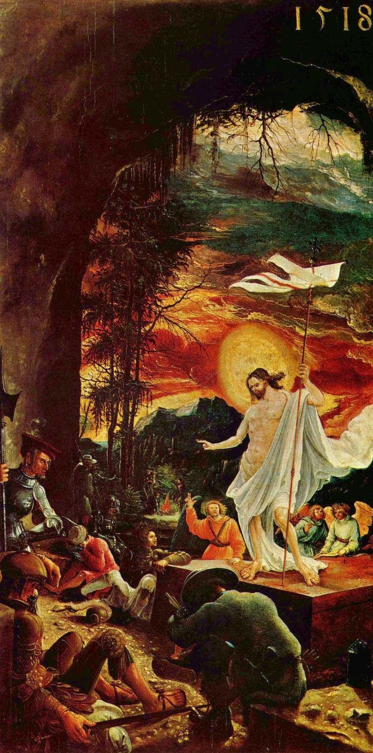 Albrecht Altdorfer Resurrection of Christ Albrecht Altdorfer WikiArtorg
