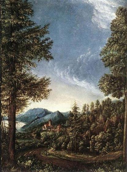 Albrecht Altdorfer 1524altdorferviewdanubevalleyjpg