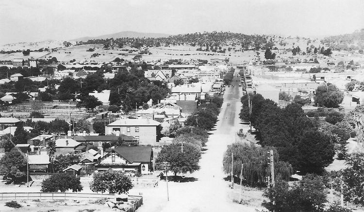 Albury in the past, History of Albury
