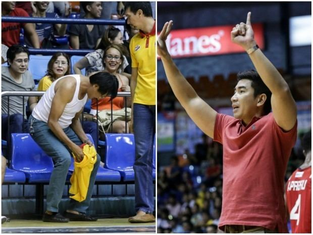 Aldin Ayo Letran coach Aldin Ayo Mapua39s Atoy Co get onegame ban
