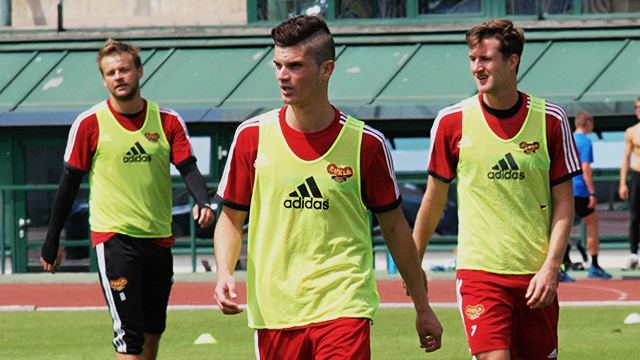 Aldin Cajic FK Dukla Praha Aldin aji Nejvce se tm na Celtic