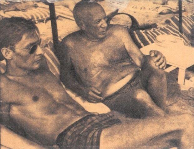 Aldo Crommelynck Aldo Crommelynck and Pablo Picasso 1965 envy