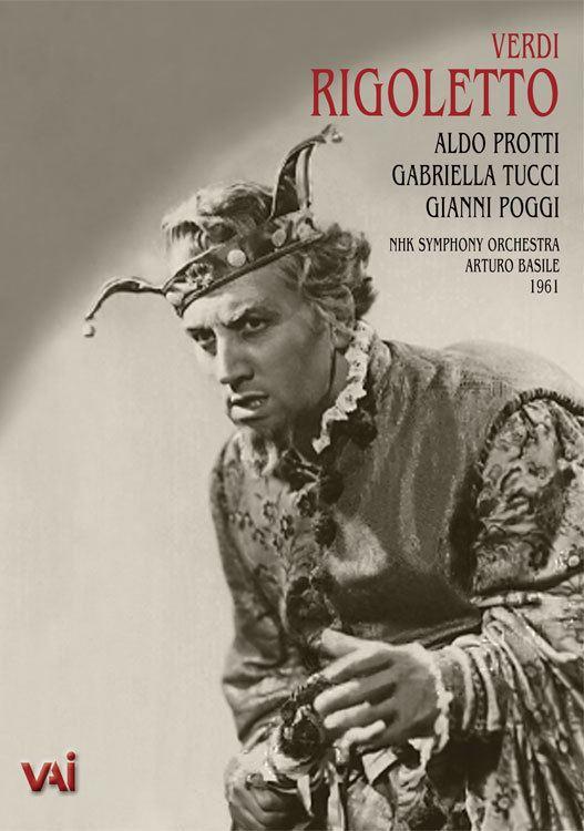 Aldo Protti RIGOLETTO Protti Tucci Poggi NHK 1961 DVD VAIMUSICCOM