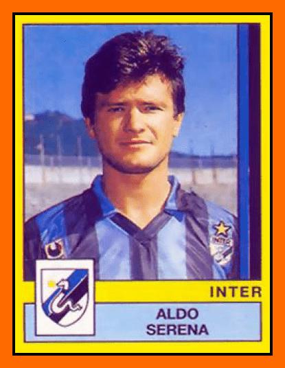 Aldo Serena Old School Panini FC Internazionale Milan 198889