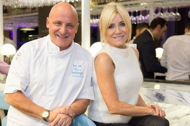 Aldo Zilli Celebrity chef Aldo Zilli I wouldnt be in business without Wham