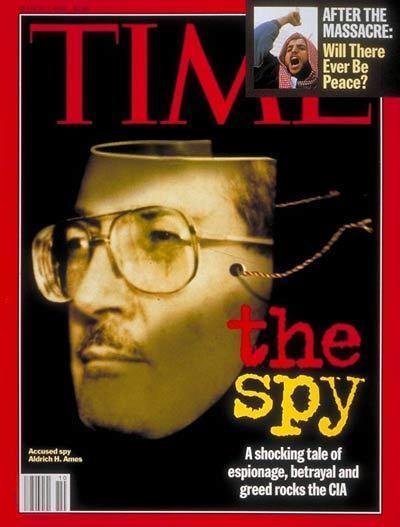 Aldrich Ames TIME Magazine Cover Aldrich Ames Mar 7 1994