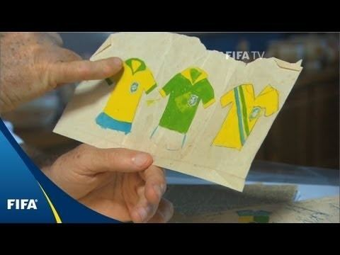 Aldyr Schlee How Brazil got their famous uniforms YouTube