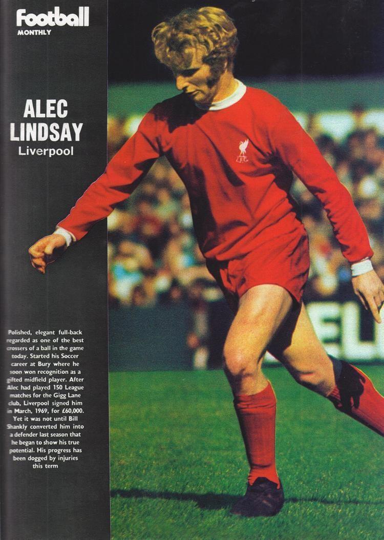 Alec Lindsay Liverpool career stats for Alec Lindsay LFChistory