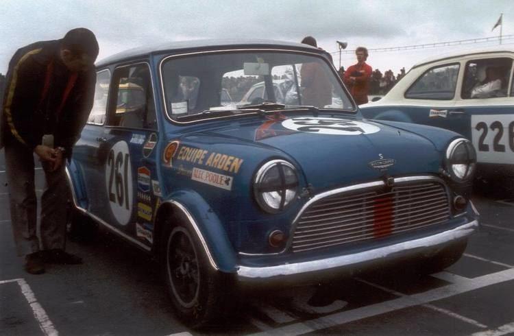 Alec Poole 1969 BTCC Championship winning Cooper S driven by Alec Poole