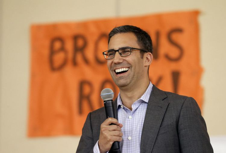 Alec Scheiner Browns President Alec Scheiner says he has no desire to