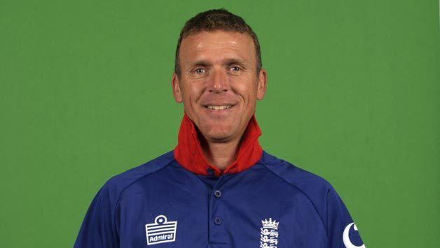 Alec Stewart Batting keeping wickets and leading England through