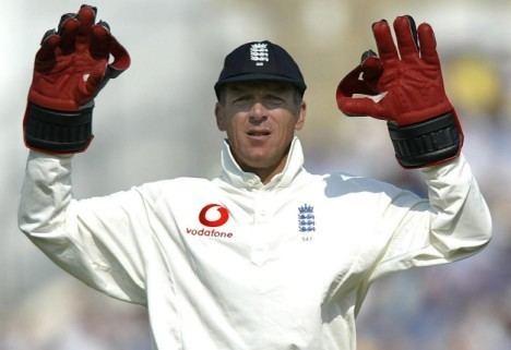 Popular cricket playerWicket keeper of England Alec Stewart