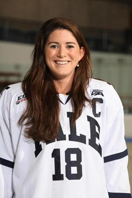 Aleca Hughes From Yale hockey to corporate sales Westwoods Aleca Hughes is all