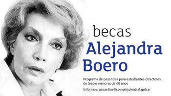 Alejandra Boero Fundacion Amigos del Teatro San Martin