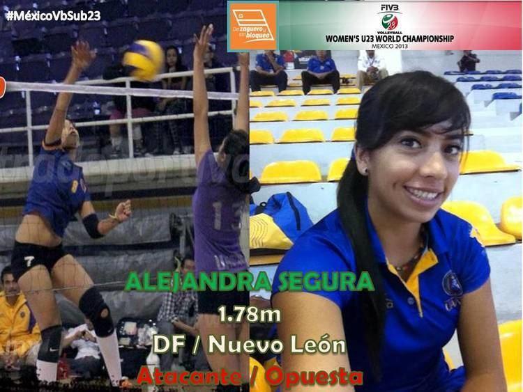 Alejandra Segura Rumbo al Mundial sub23 Alejandra Segura De Zaguero y Sin Bloqueo