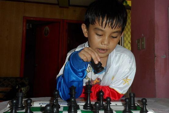 Alekhine Nouri 7Yearold Filipino Chess Player Has Big Dreams
