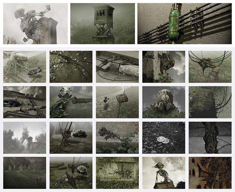 Aleksa Gajic Technotise Edit and I Concept Art by Aleksa Gajic