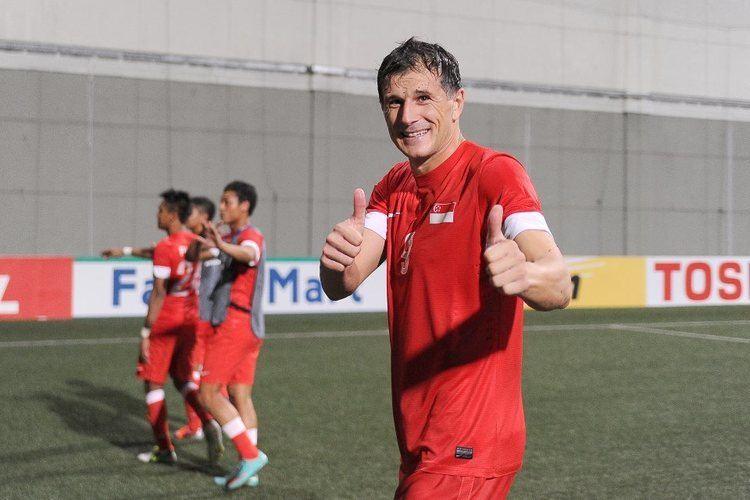 Aleksandar Duric 2012 AFF Suzuki Cup Singapore Player Grades Aleksandar