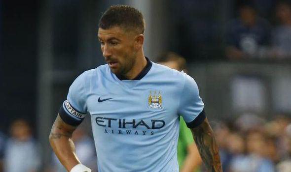 Aleksandar Kolarov Aleksandar Kolarov Manchester City Manchester United Dig