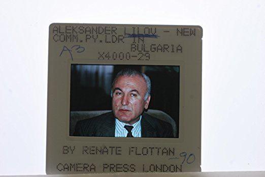 Aleksandar Lilov Slides photo of Aleksandar Lilov was a Bulgarian politician and