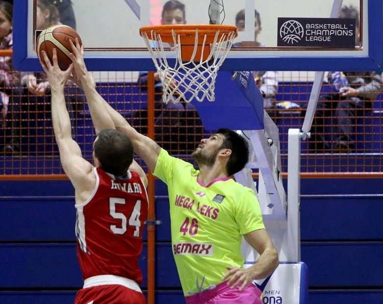 Aleksandar Marelja Mega Leks v SIG Strasbourg Boxscore Basketball Champions League