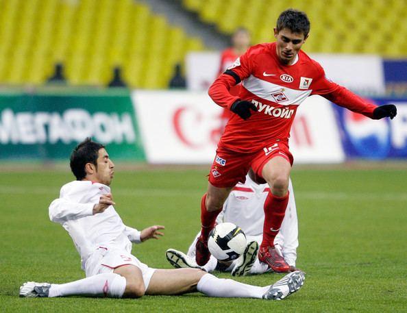 Aleksandr Amisulashvili Aleksandr Amisulashvili Photos FC Spartak Moscow v PFC