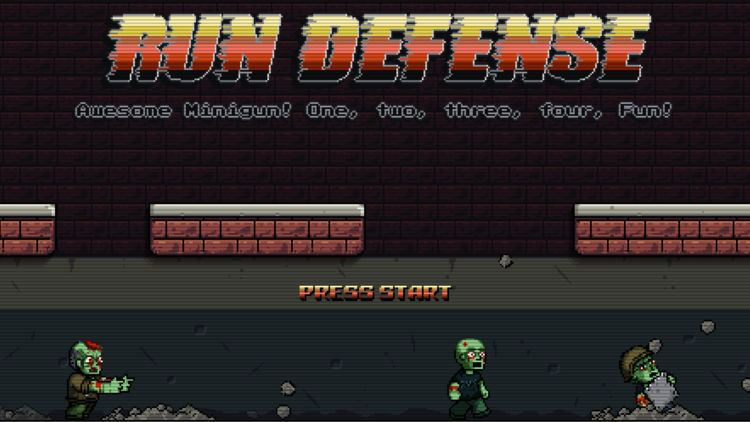 Aleksandr Bratchikov Run Defense Retro Platformer by Aleksandr Bratchikov